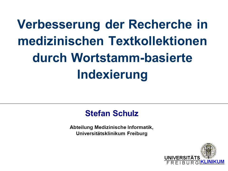 Abteilung Medizinische Informatik, Universitätsklinikum Freiburg