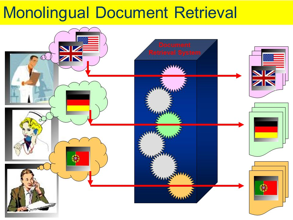 Monolingual Document Retrieval