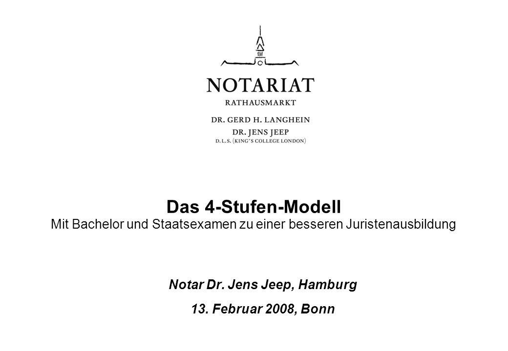 Notar Dr. Jens Jeep, Hamburg 13. Februar 2008, Bonn
