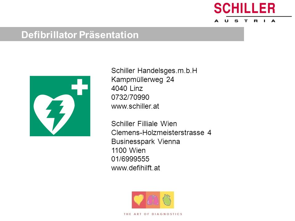 Defibrillator Präsentation
