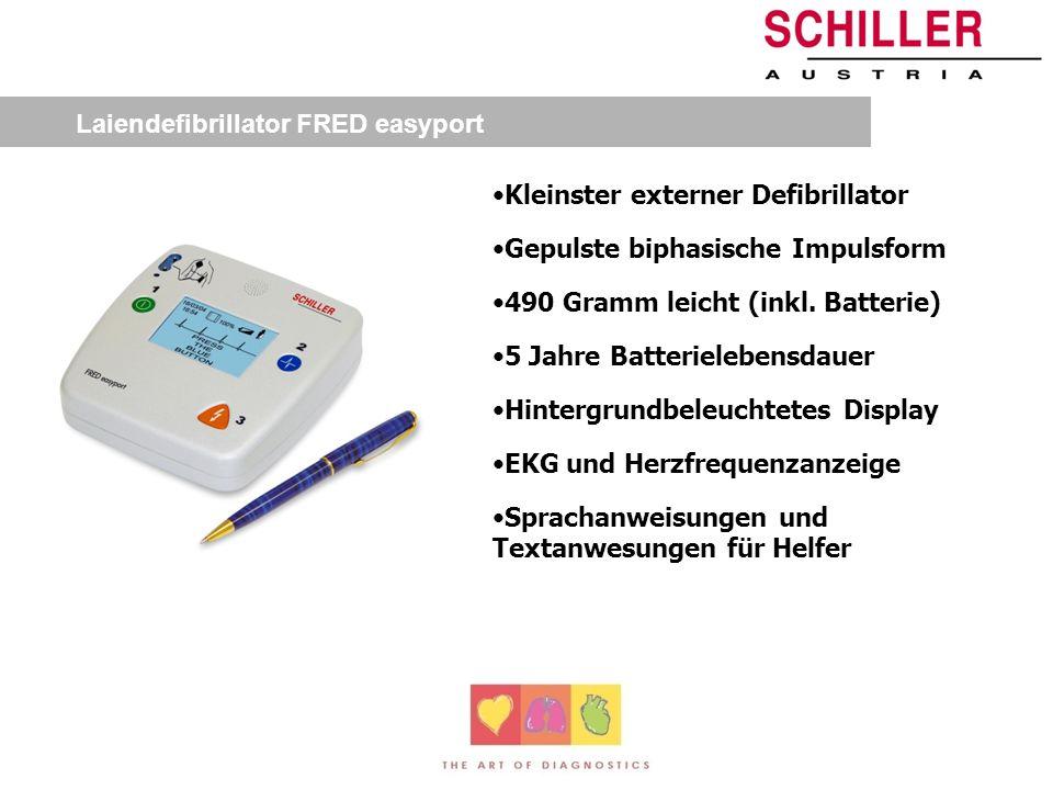 Laiendefibrillator FRED easyport