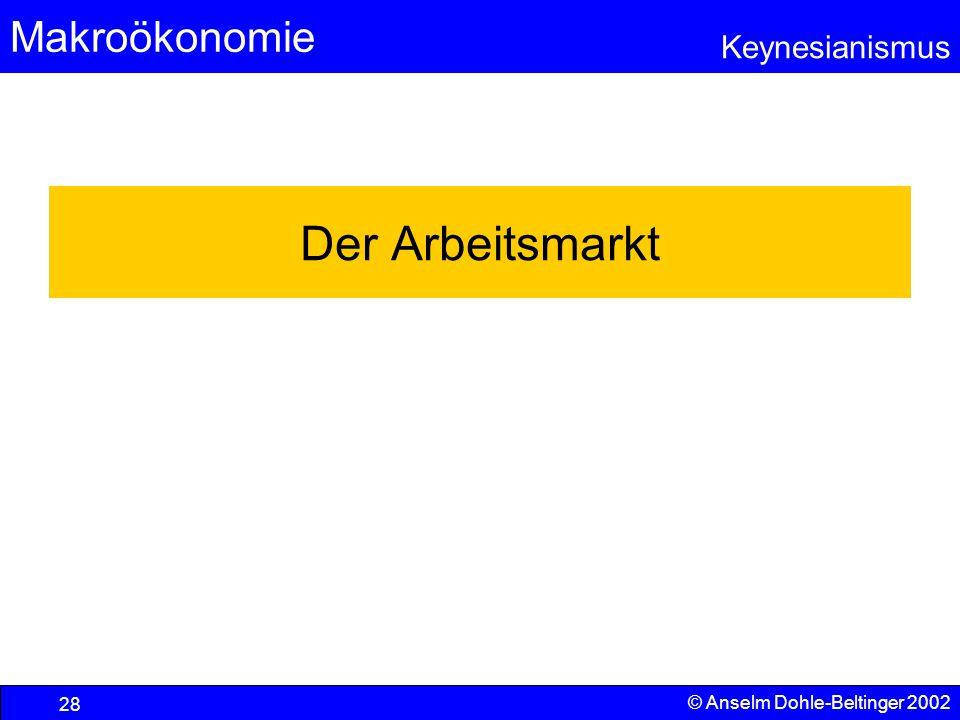 Der Arbeitsmarkt © Anselm Dohle-Beltinger 2002