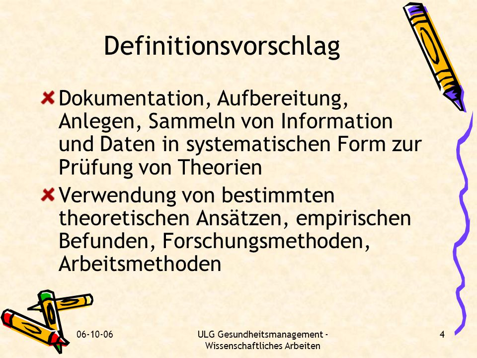 Definitionsvorschlag