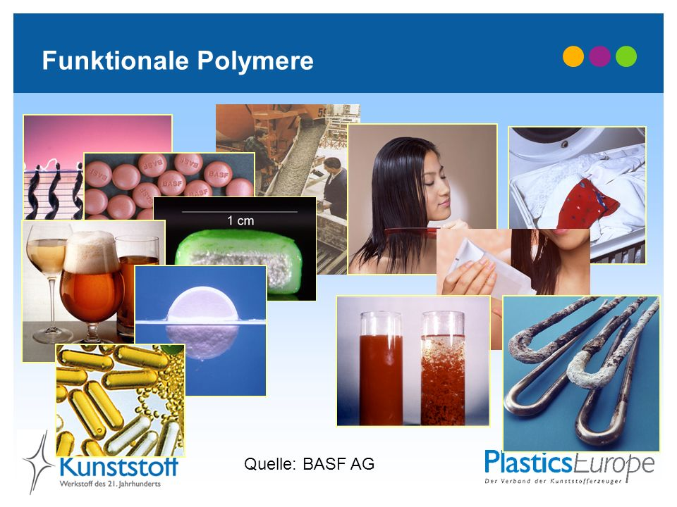 Funktionale Polymere Quelle: BASF AG