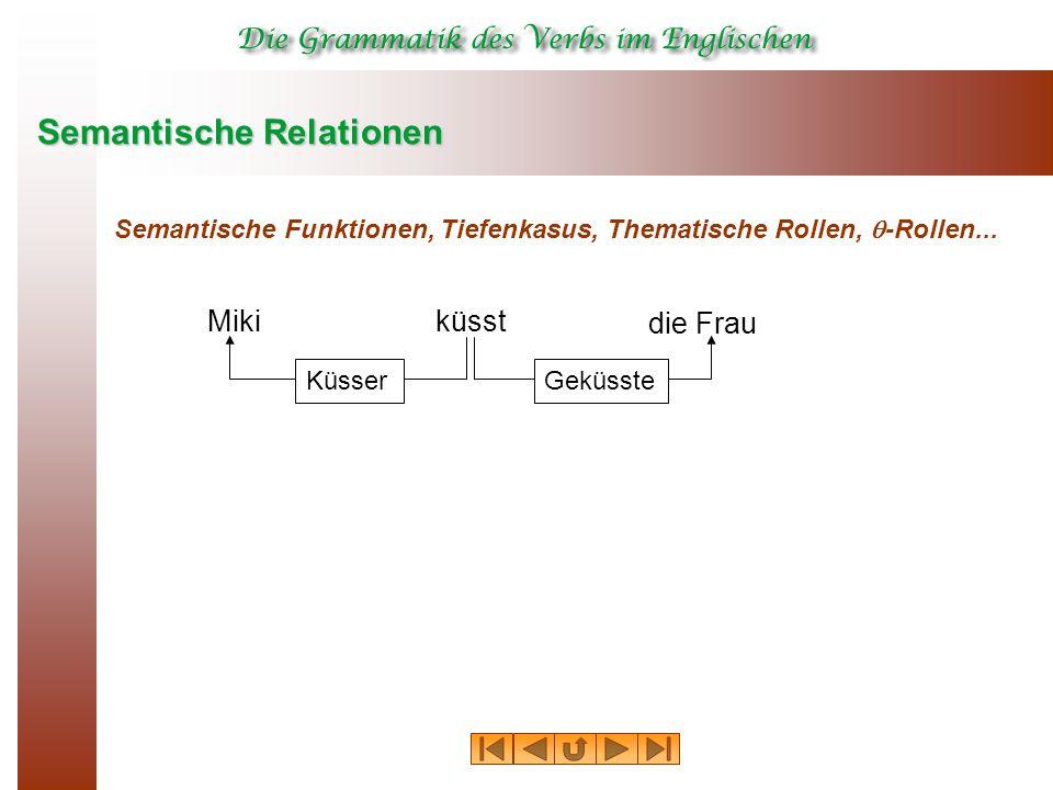 Semantische Relationen