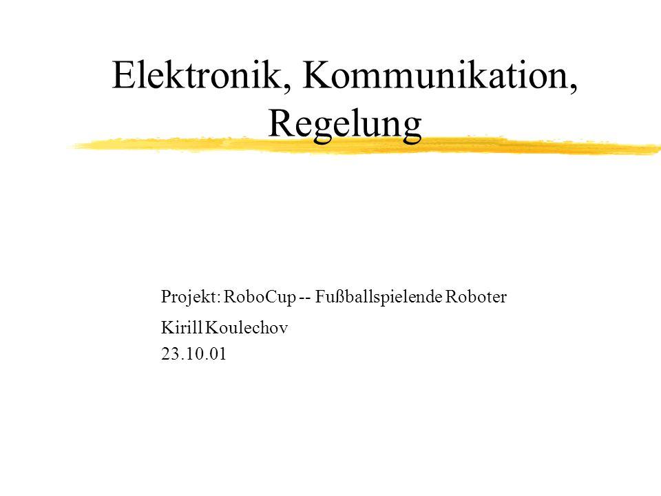 Elektronik, Kommunikation, Regelung