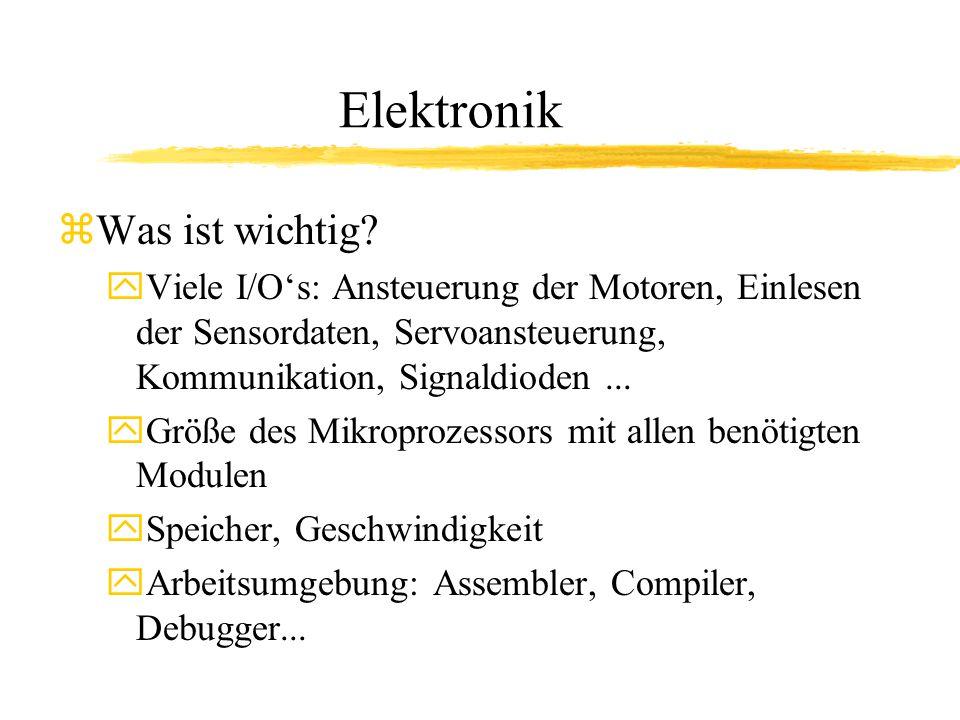 Elektronik Was ist wichtig