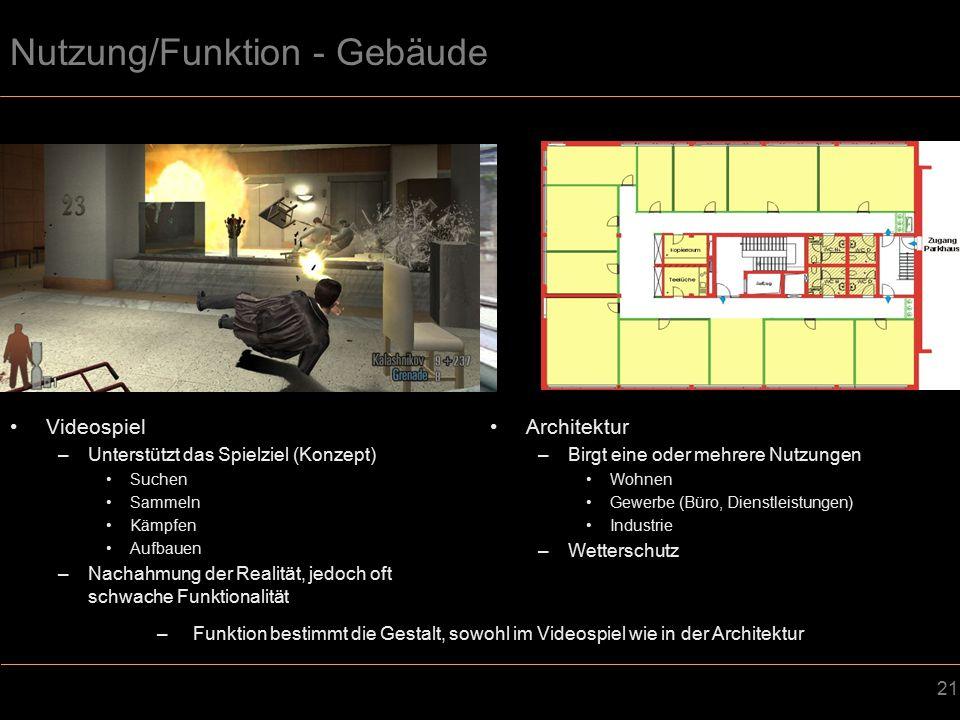 Nutzung/Funktion - Gebäude
