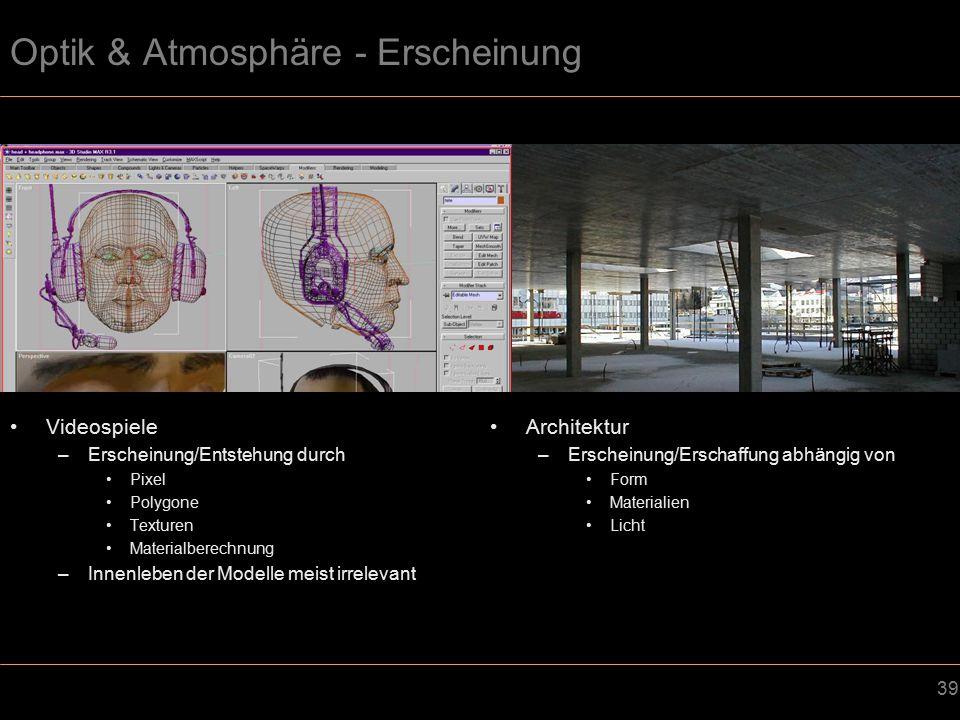 Optik & Atmosphäre - Erscheinung