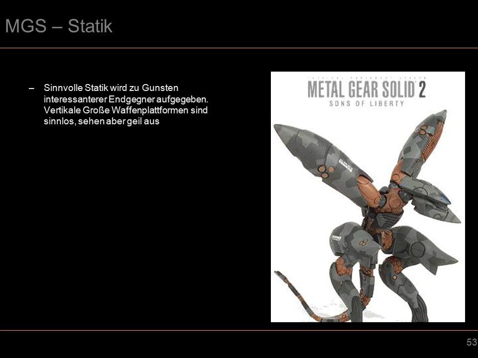 MGS – Statik