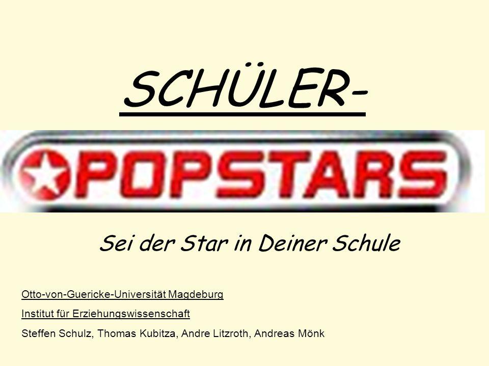 Sei der Star in Deiner Schule