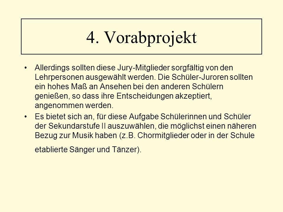 4. Vorabprojekt