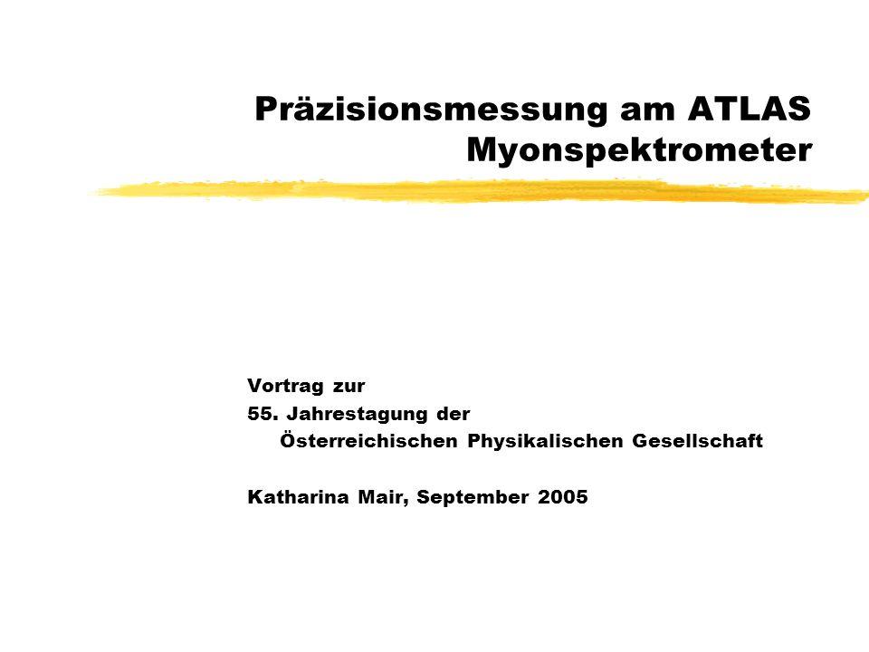 Präzisionsmessung am ATLAS Myonspektrometer