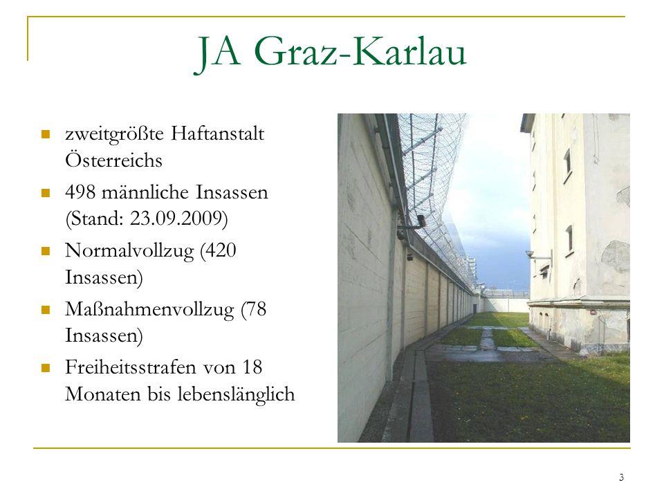 JA Graz-Karlau zweitgrößte Haftanstalt Österreichs