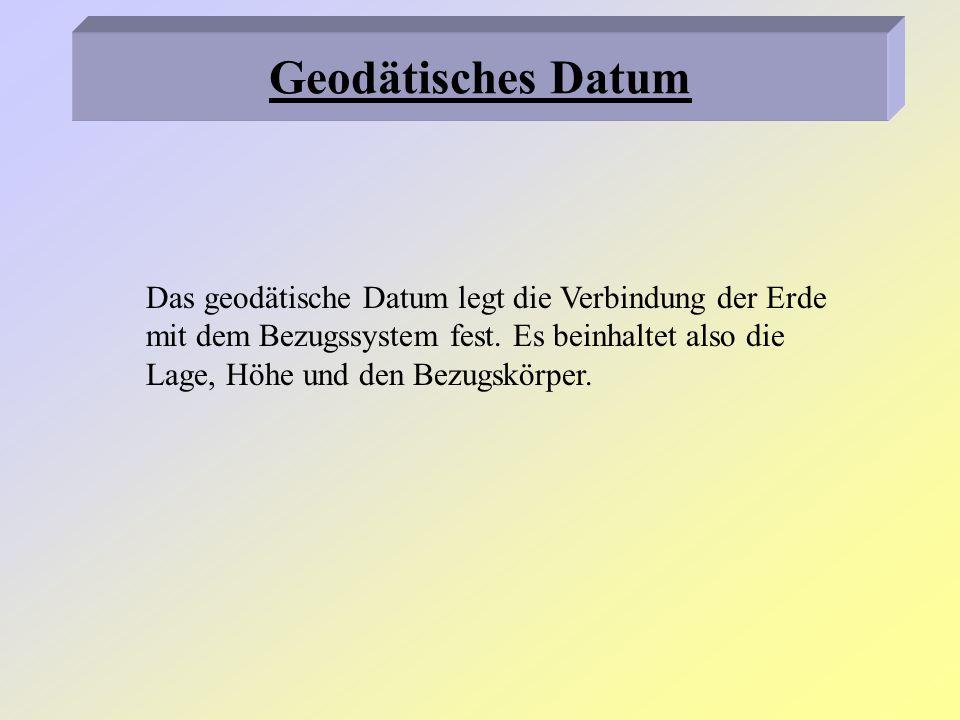 Geodätisches Datum