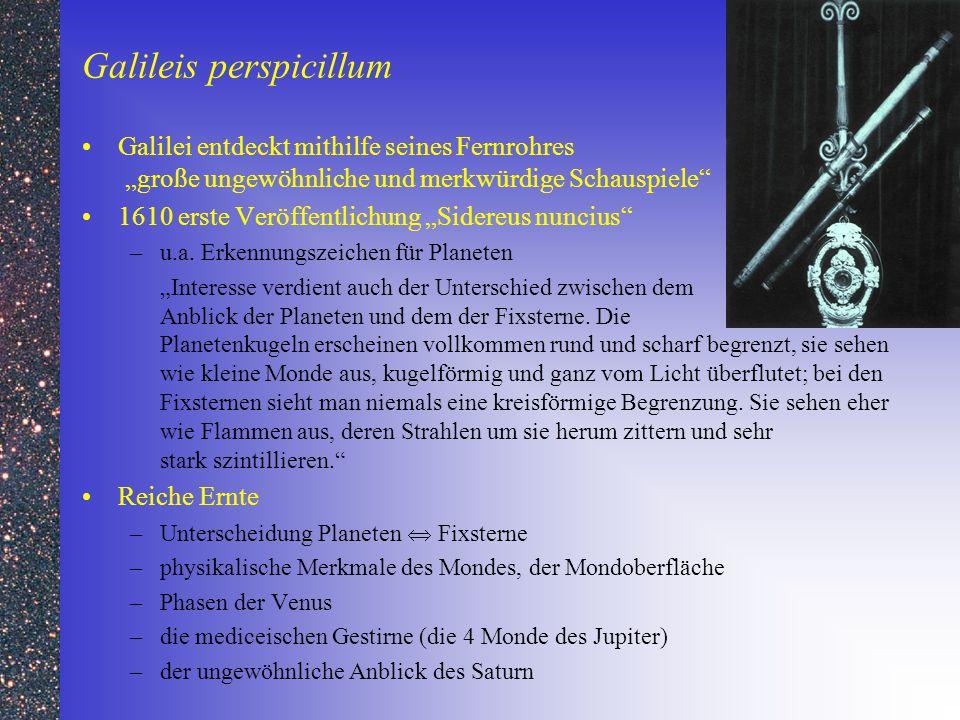 Galileis perspicillum