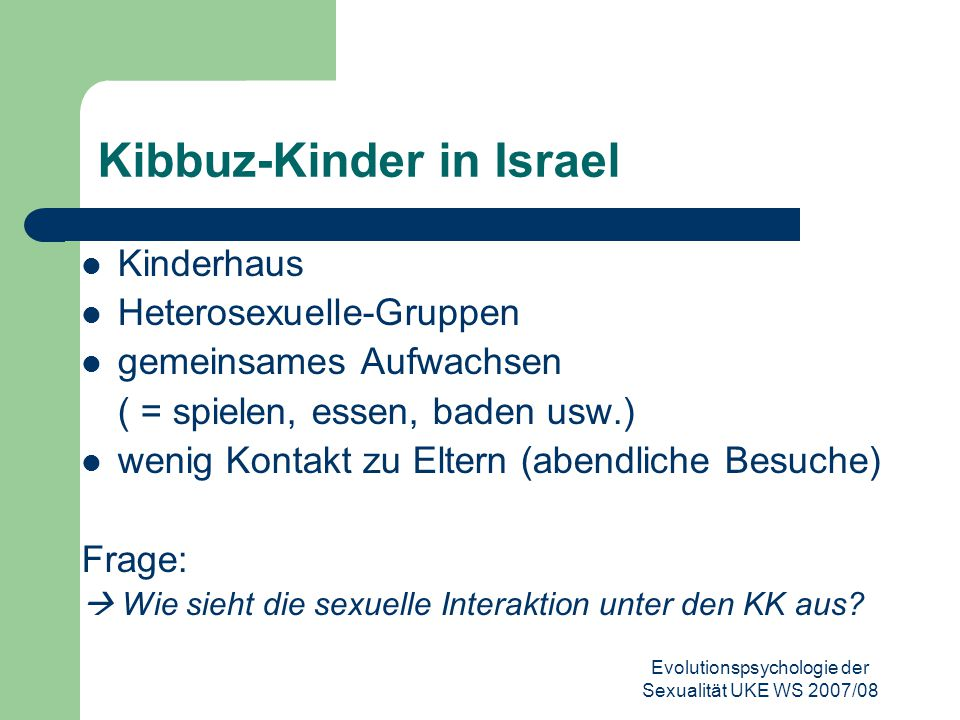 Kibbuz-Kinder in Israel