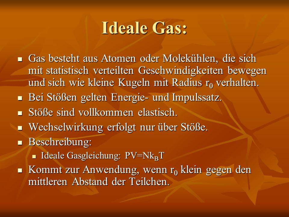 Ideale Gas: