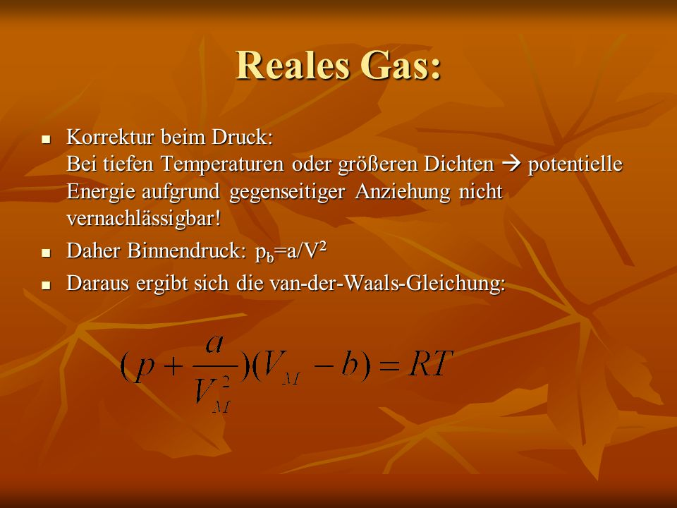 Reales Gas: