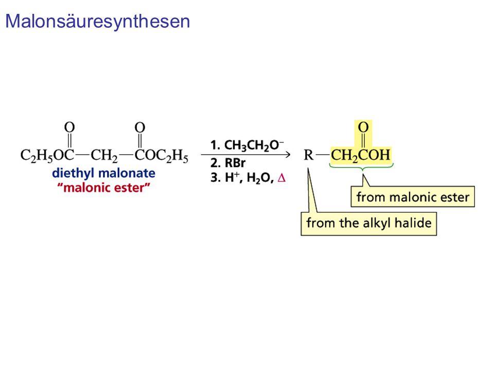 Malonsäuresynthesen