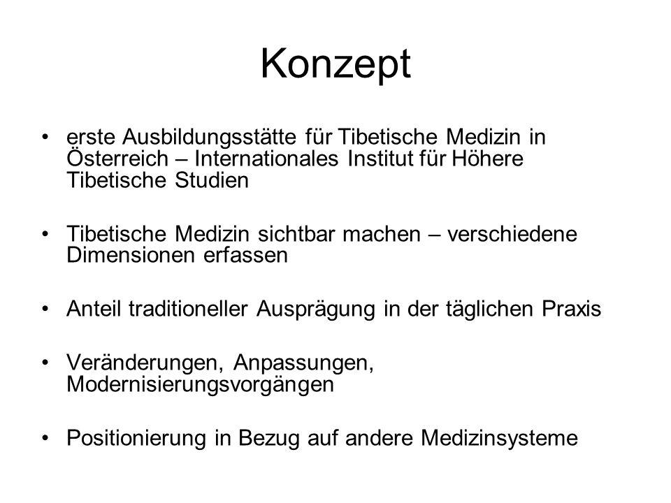 Konzept erste Ausbildungsstätte für Tibetische Medizin in Österreich – Internationales Institut für Höhere Tibetische Studien.