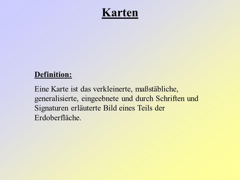Karten Definition: