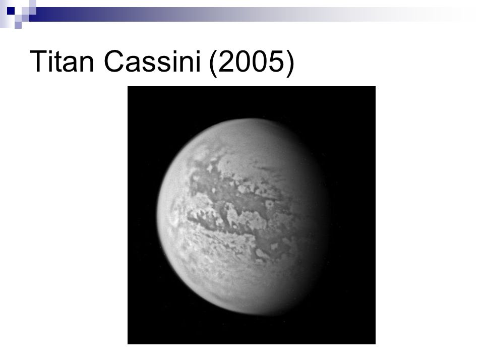 Titan Cassini (2005)