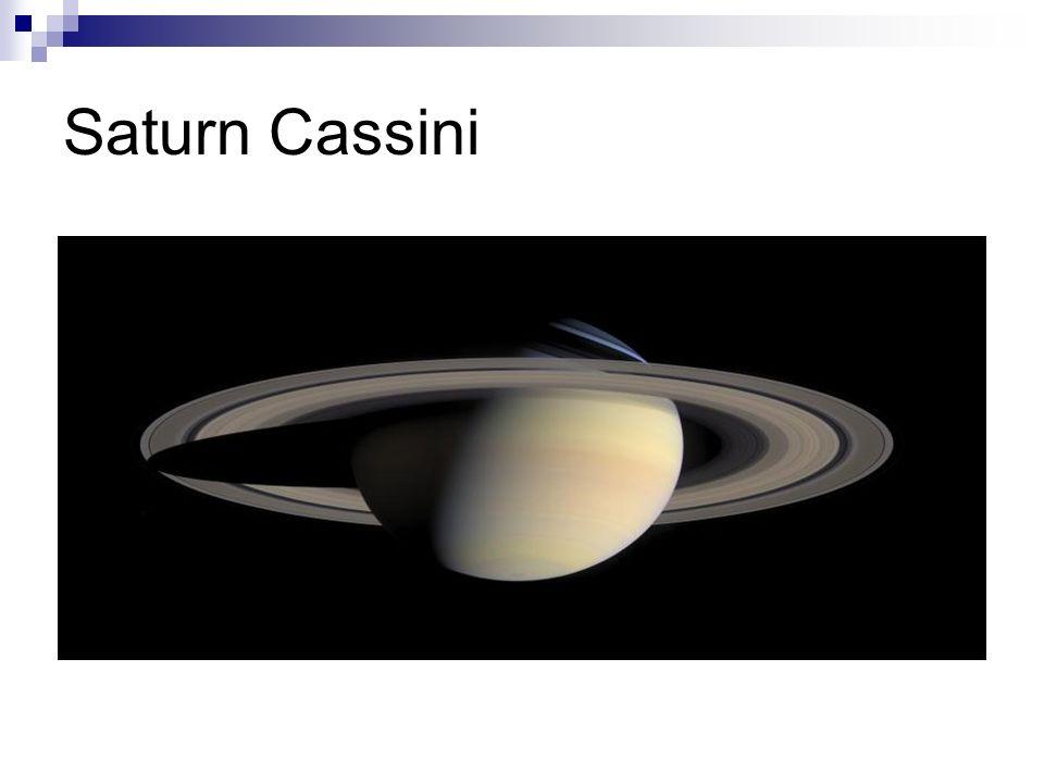 Saturn Cassini