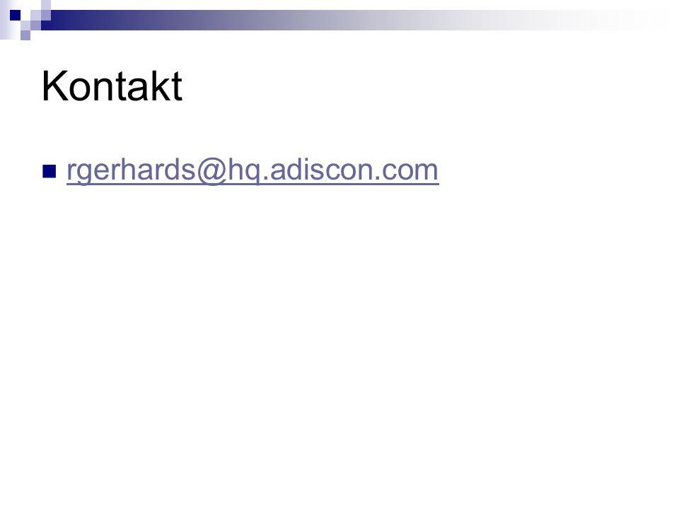 Kontakt rgerhards@hq.adiscon.com