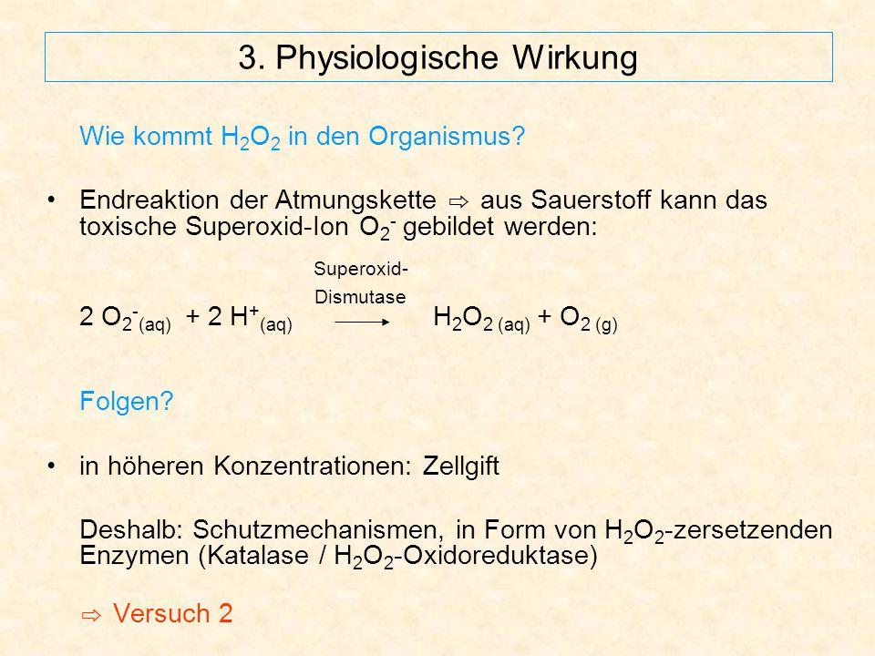 3. Physiologische Wirkung
