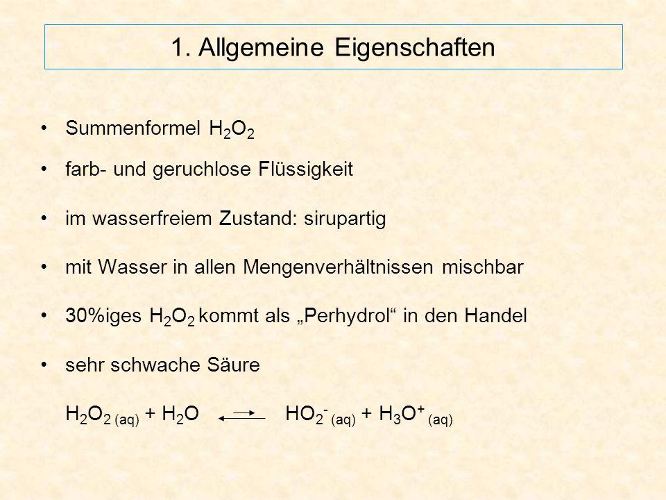 1. Allgemeine Eigenschaften