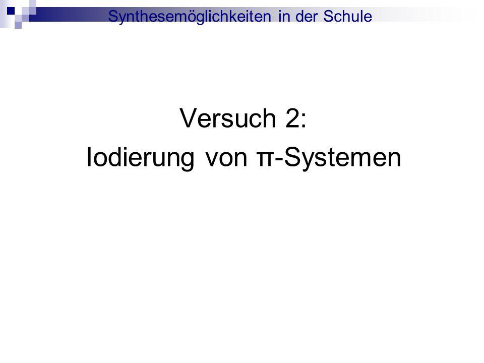 Iodierung von π-Systemen