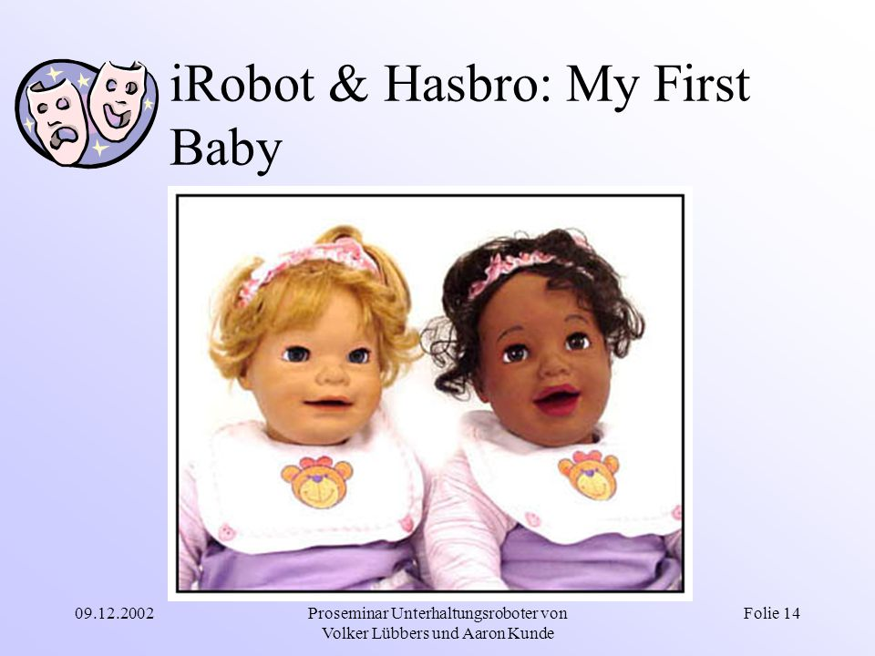 iRobot & Hasbro: My First Baby