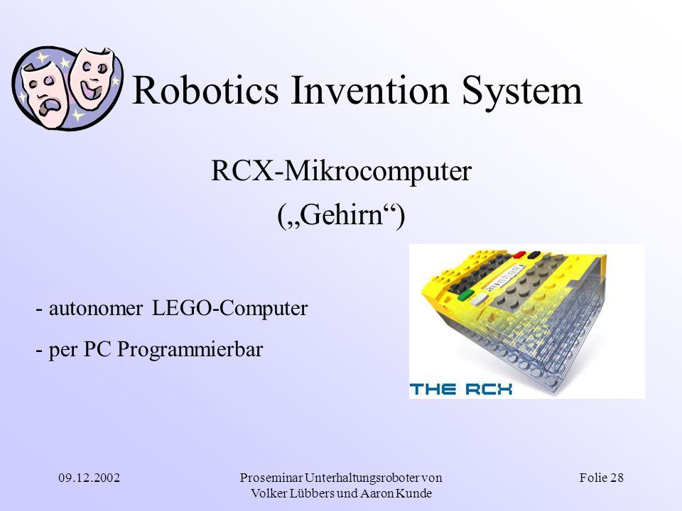 Robotics Invention System