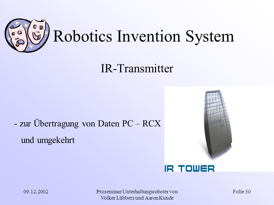 Robotics Invention System