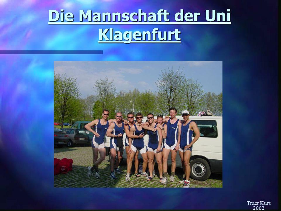 Die Mannschaft der Uni Klagenfurt