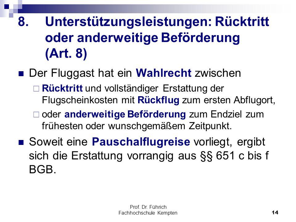 Prof. Dr. Führich Fachhochschule Kempten