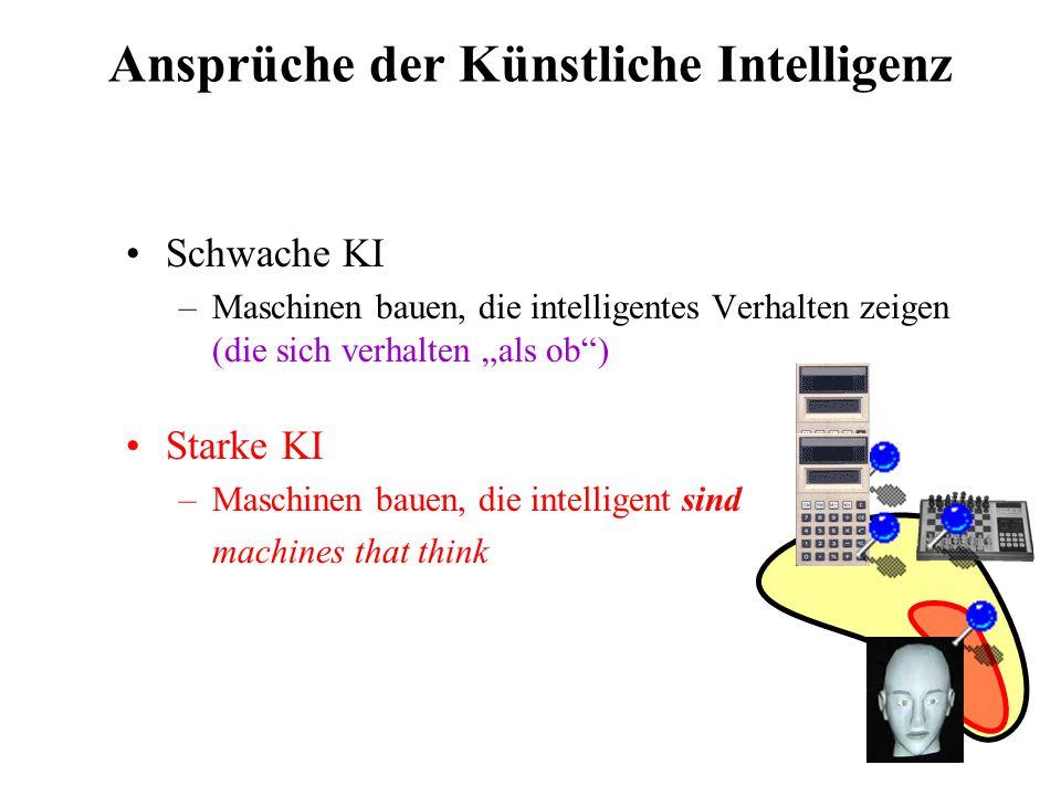 Ansprüche der Künstliche Intelligenz