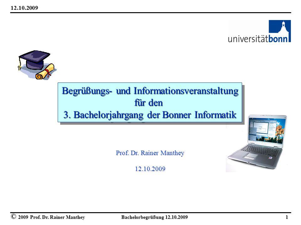 Begrüßungs- und Informationsveranstaltung für den