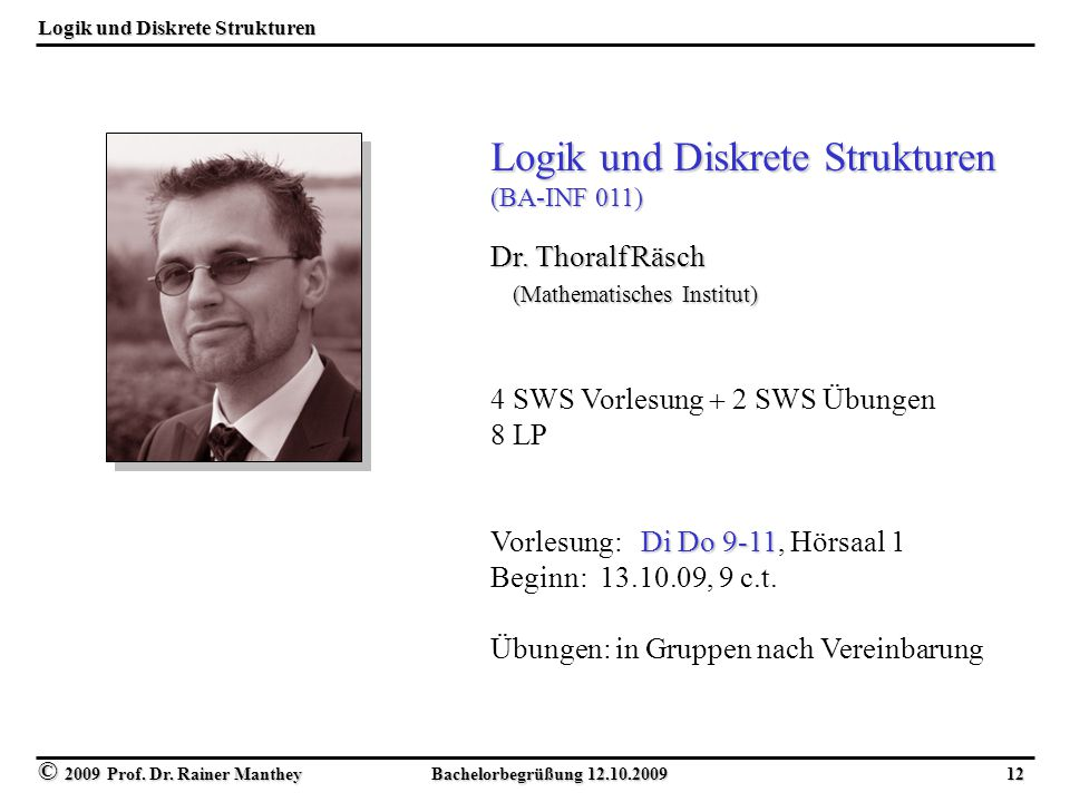 Logik und Diskrete Strukturen