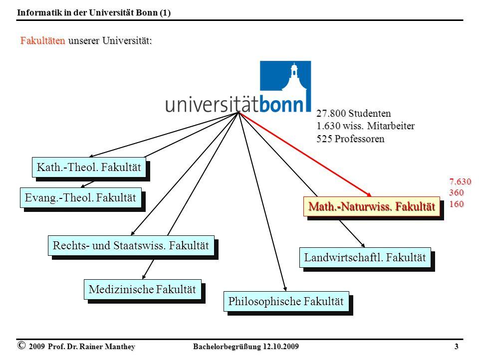 Informatik in der Universität Bonn (1)