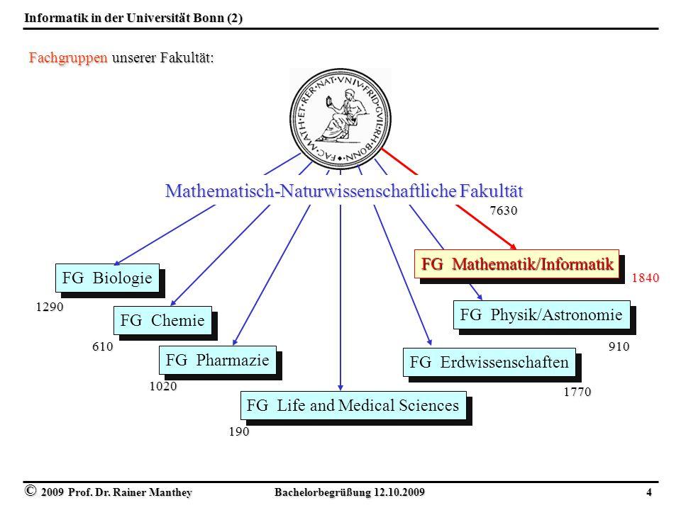 Informatik in der Universität Bonn (2)