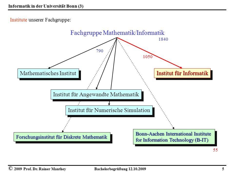 Informatik in der Universität Bonn (3)