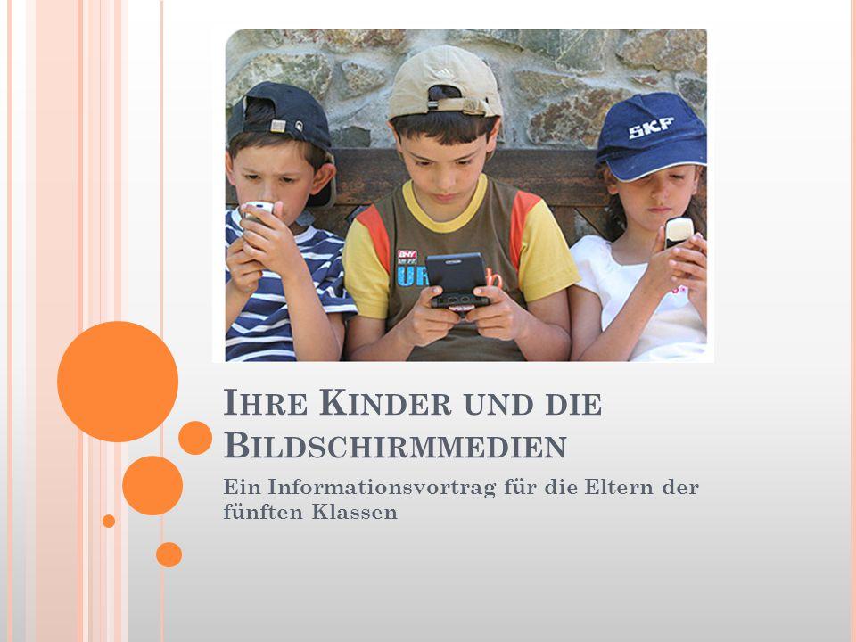 Ihre Kinder und die Bildschirmmedien