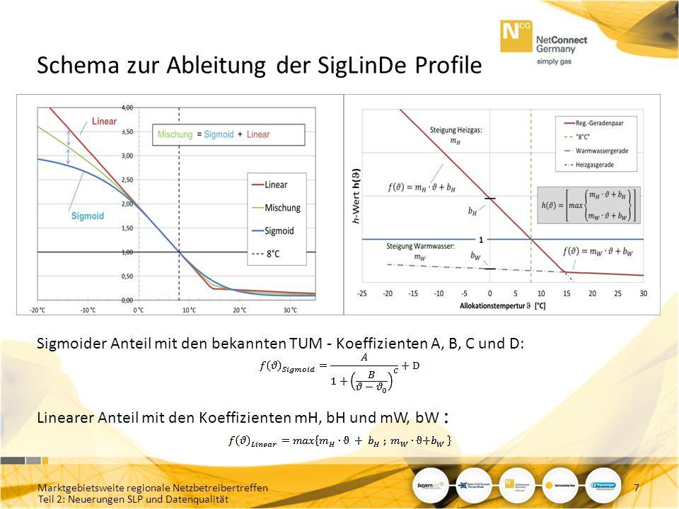Schema zur Ableitung der SigLinDe Profile