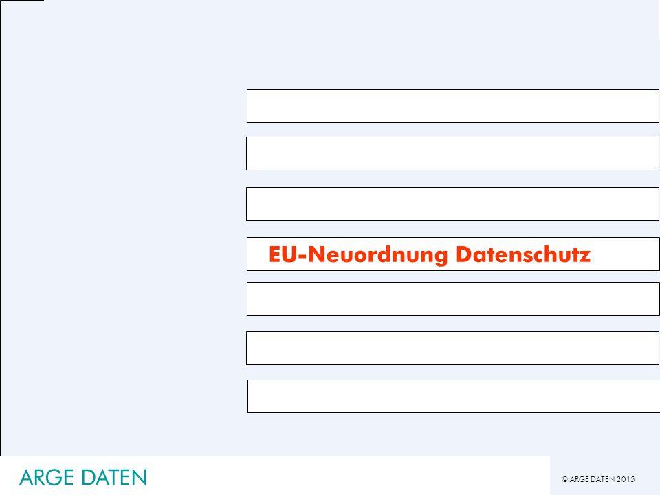 EU-Neuordnung Datenschutz