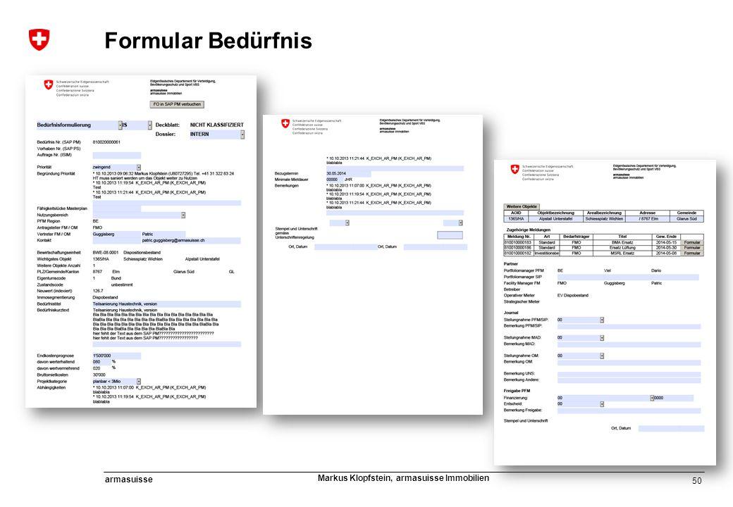 Formular Bedürfnis KLASSFIZIERUNG Referent oder Herausgeber