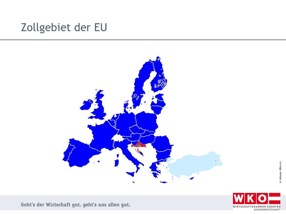 Zollgebiet der EU