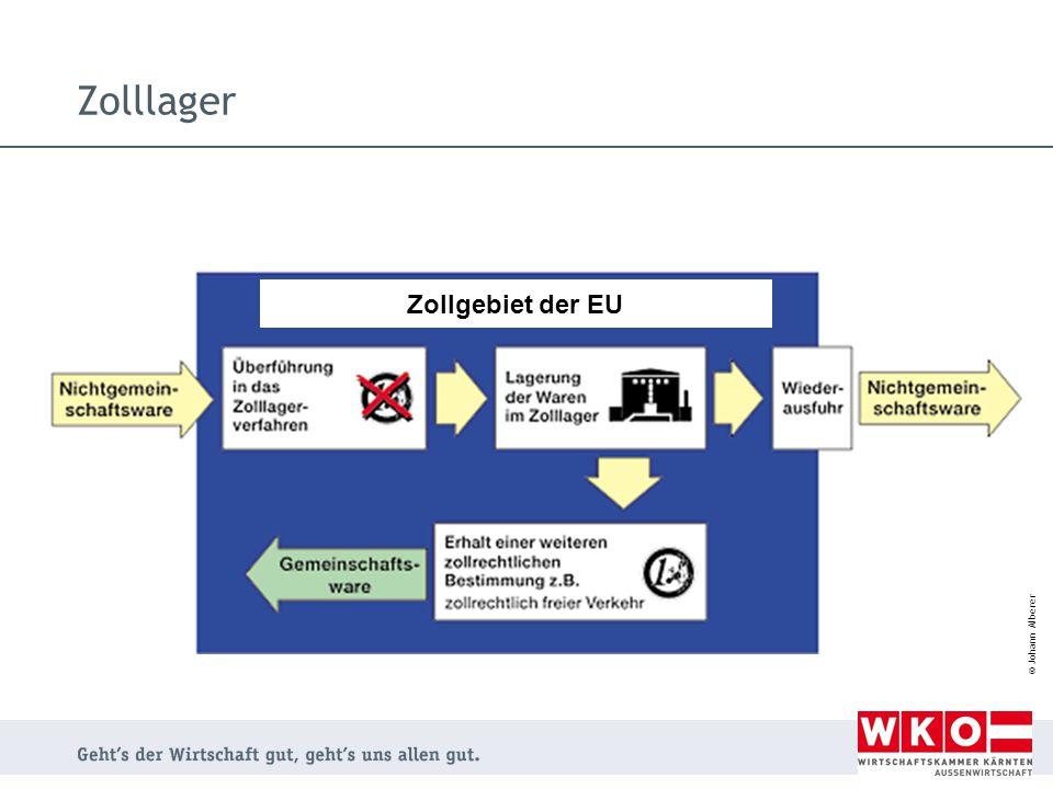 Zolllager Zollgebiet der EU