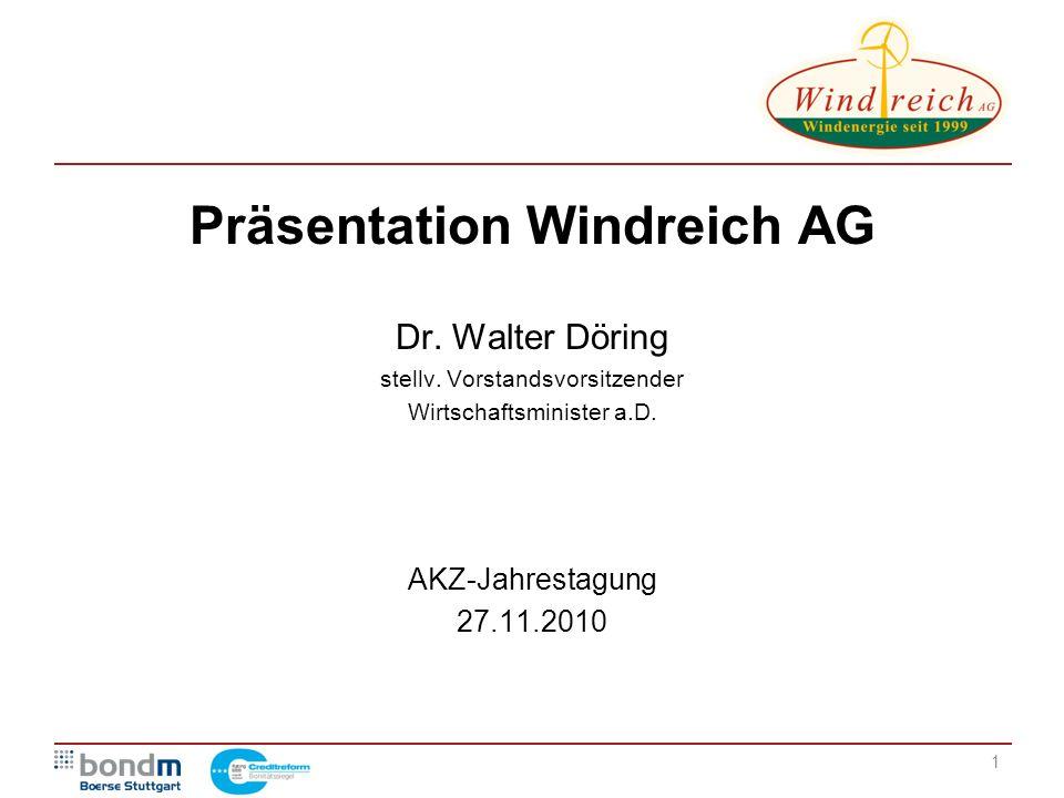 Präsentation Windreich AG